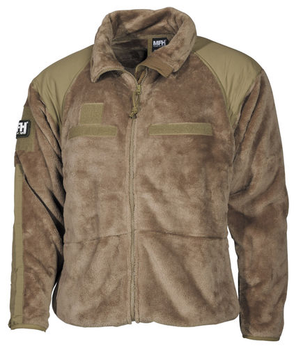 US Fleece Jacke Gen. 3 Cold Weather Coyote