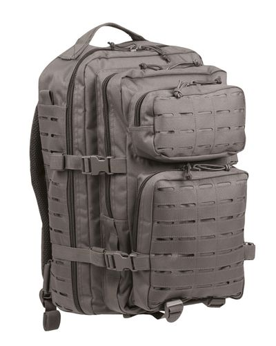 US Assault Pack Large Urban Grey Laser Cut