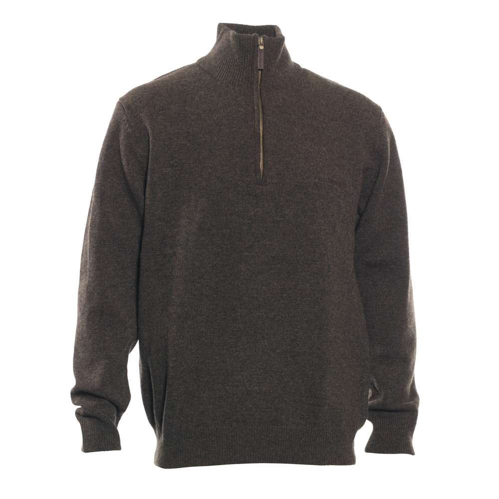 official photos 32ad9 2b876 Deerhunter Hastings Pullover Wolle braun mit Zip