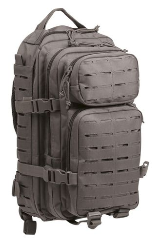 US Assault Pack small Urban Grey Laser Cut