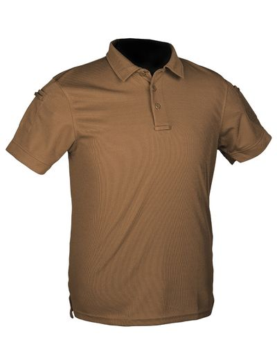 Tactical Quickdry Poloshirt Dark Coyote