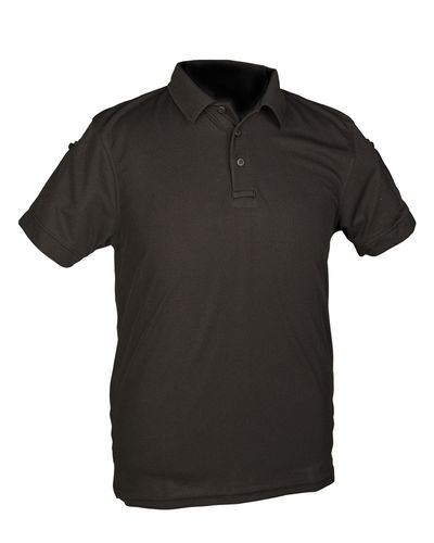 Tactical Quickdry Poloshirt Schwarz